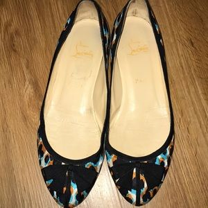 Authentic Christian Louboutin  colorful flats 39